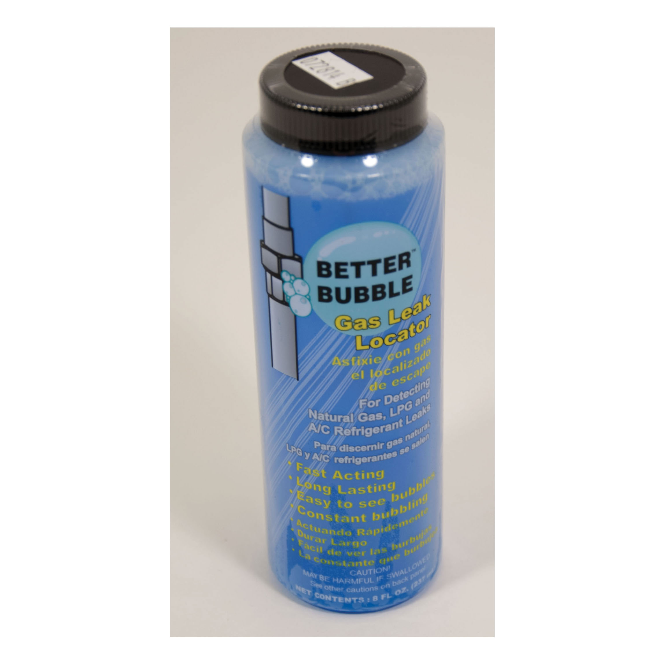 RectorSeal® RectorSeek™ Better Bubble™ 65554 Gas Leak Locator, 8 oz Dauber In Bottle, Liquid Form, Blue, Mild Odor/Scent