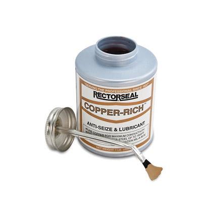 RectorSeal® Copper-Rich™ 72841 High Temperature Anti-Seize Lubricant, 1 lb Can, Grease, Copper, 1.23
