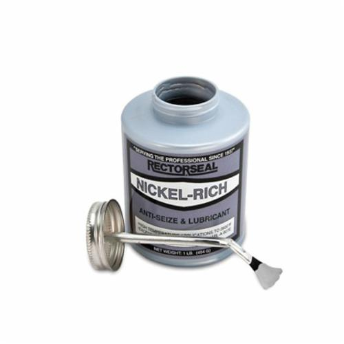 RectorSeal® Nickel-Rich™ 73831 Nuclear Grade Anti-Seize and Lubricant, 1 lb Brush In Cap Bottle, 1.10
