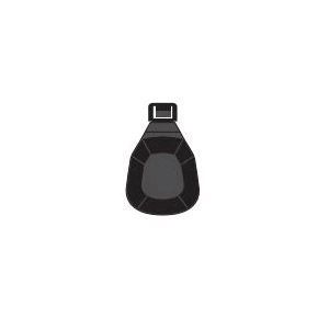 Clean Check® 96981 Flapper, For Use With Extendable Backwater Valve, 3 to 4 in, ABS, White, Import