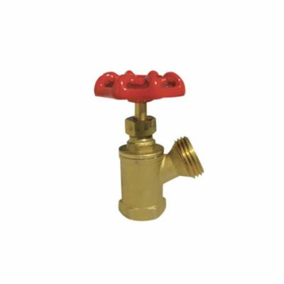RWV® RW-505 1/2 Standard Boiler Drain Valve, 1/2 in, FNPT x Hose, Brass