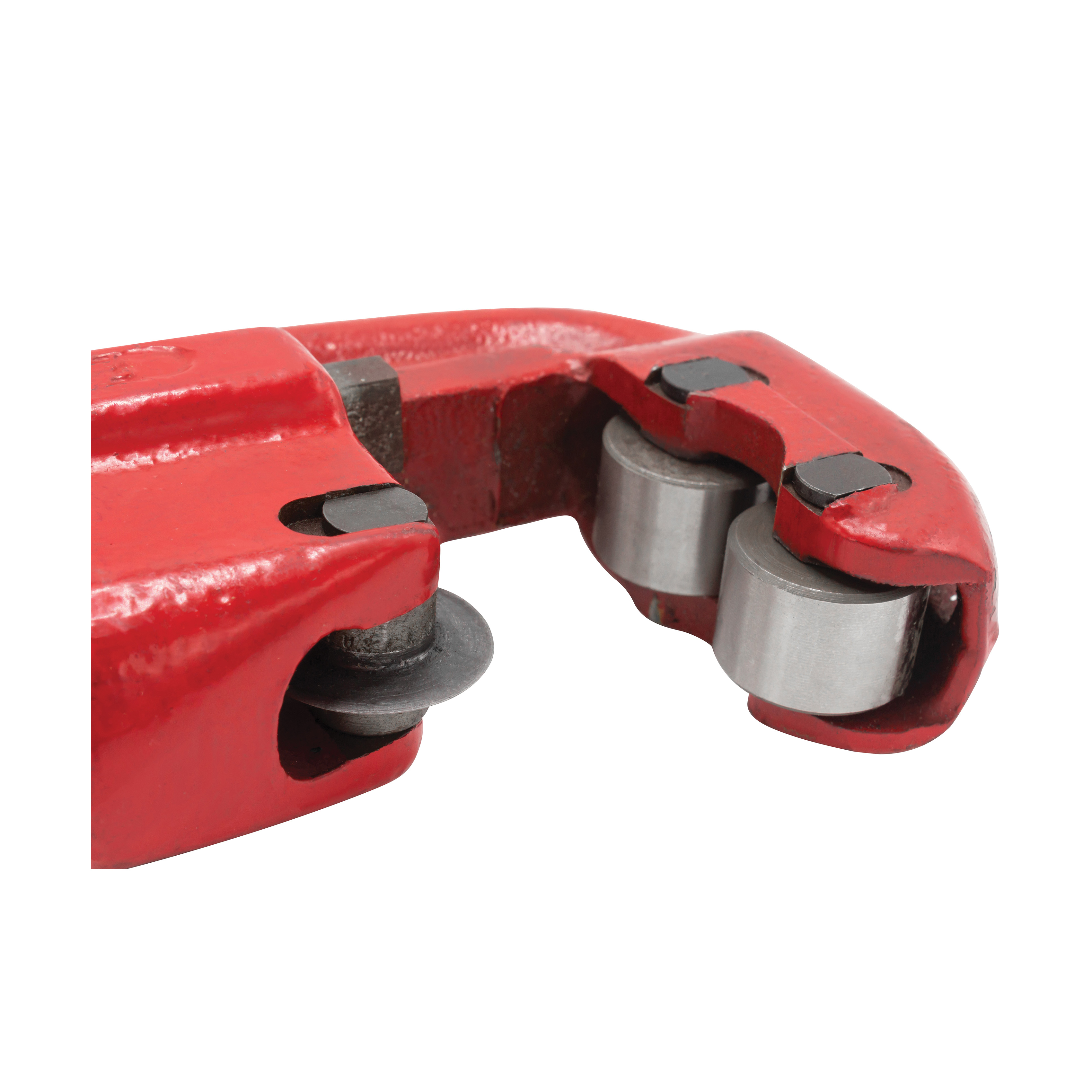 Reed 03320 1-Wheel Pipe Cutter, 1/8 to 2 in, Tool Steel Cutting Edge, Short Handle