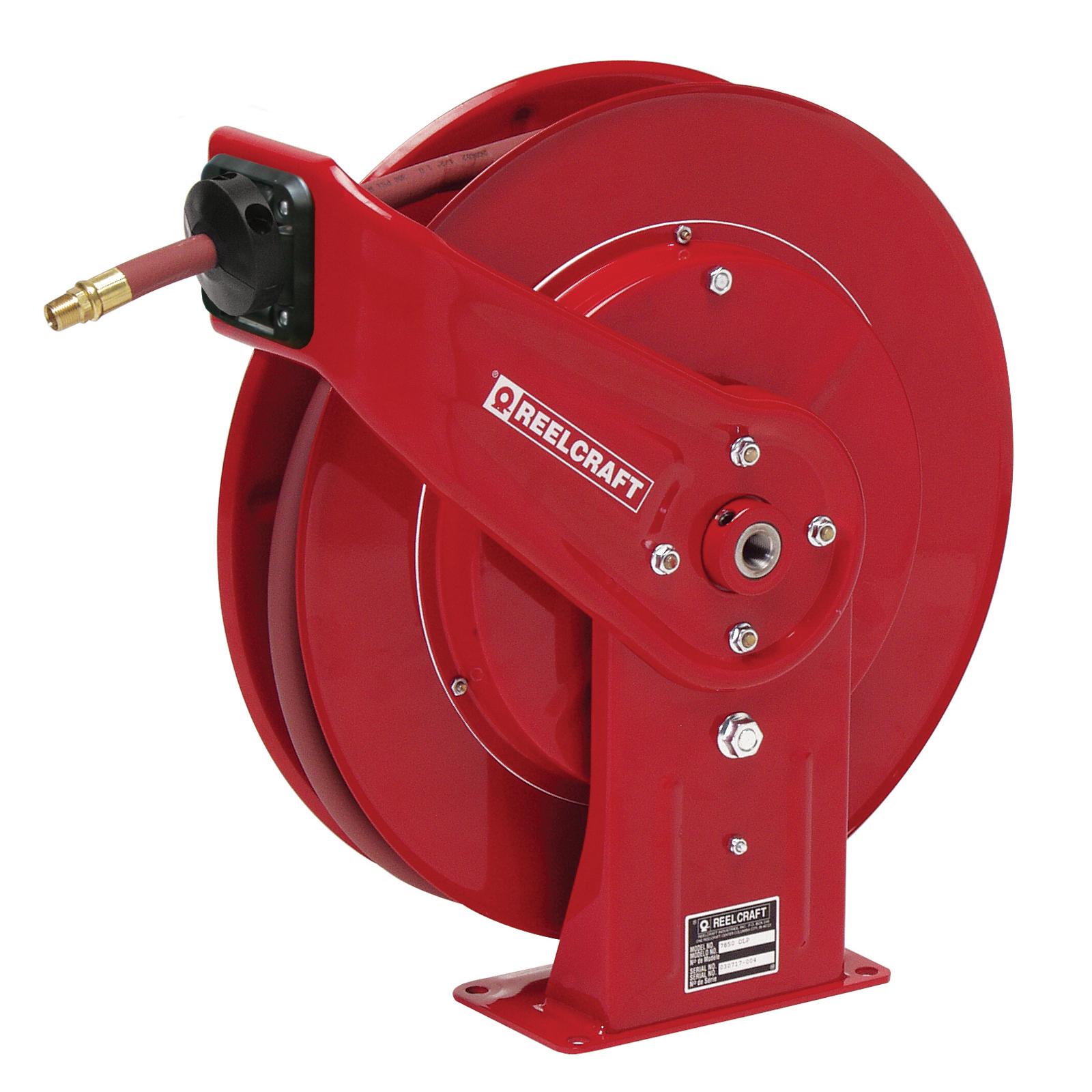 Reelcraft® 600626 Universal Wall Mounted Swing Bracket, 10-1/2 in L x 5 in W x 5-1/2 in H, Steel, Black, Import