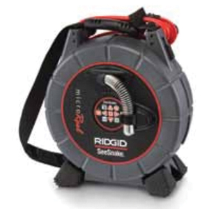 RIDGID® SeeSnake® microReel™ 35193 Video Inspection System With Sonde and Counter, 1.5 to 4 in Pipe, Micro Reel
