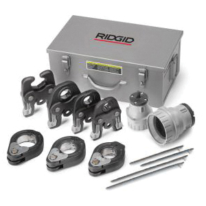 RIDGID® MegaPress® 37953 Pressing Kit, For Use With: MegaPress and MegaPressG Fitting, 1/2 to 2 in Capacity
