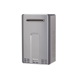 Rinnai® RL75eN HE+ Tankless Water Heater, Natural Gas Fuel, 180000 Btu/hr Heating, Indoor/Outdoor: Outdoor, 7.5 gpm Flow Rate, 0.82, Commercial/Residential