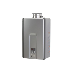 Rinnai® RL75iP HE+ Tankless Water Heater, Liquid Propane Fuel, 180000 Btu/hr Heating, Indoor/Outdoor: Indoor, Non-Condensing, 7.5 gpm Flow Rate, Direct Vent, 0.82, Commercial/Residential