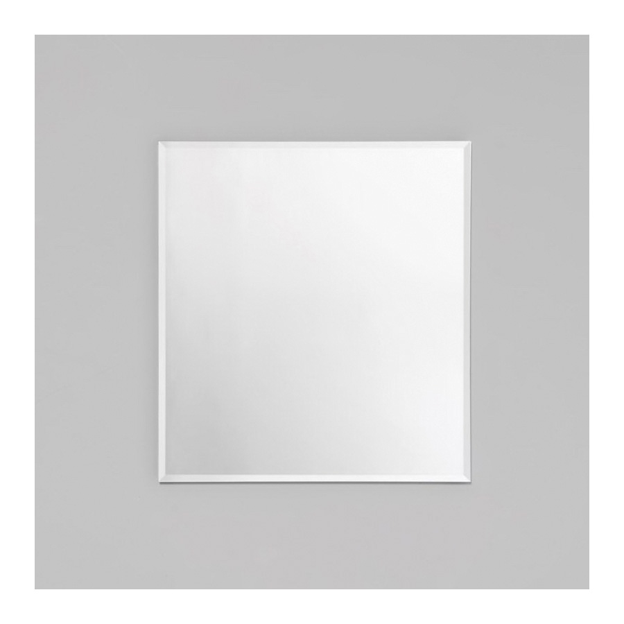 Robern® RC2426D4FB1 Single Door Medicine Cabinet With Interior Bevel Edge Front Mirror, R3 Series, 24 in OAW x 26 in OAH, Aluminum, Satin Anodized