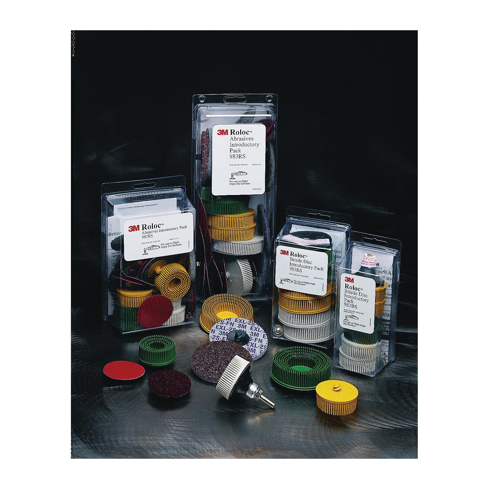 Roloc™ 048011-18694 982RS Radial Bristle Disc Kit, Ceramic Aluminum Oxide