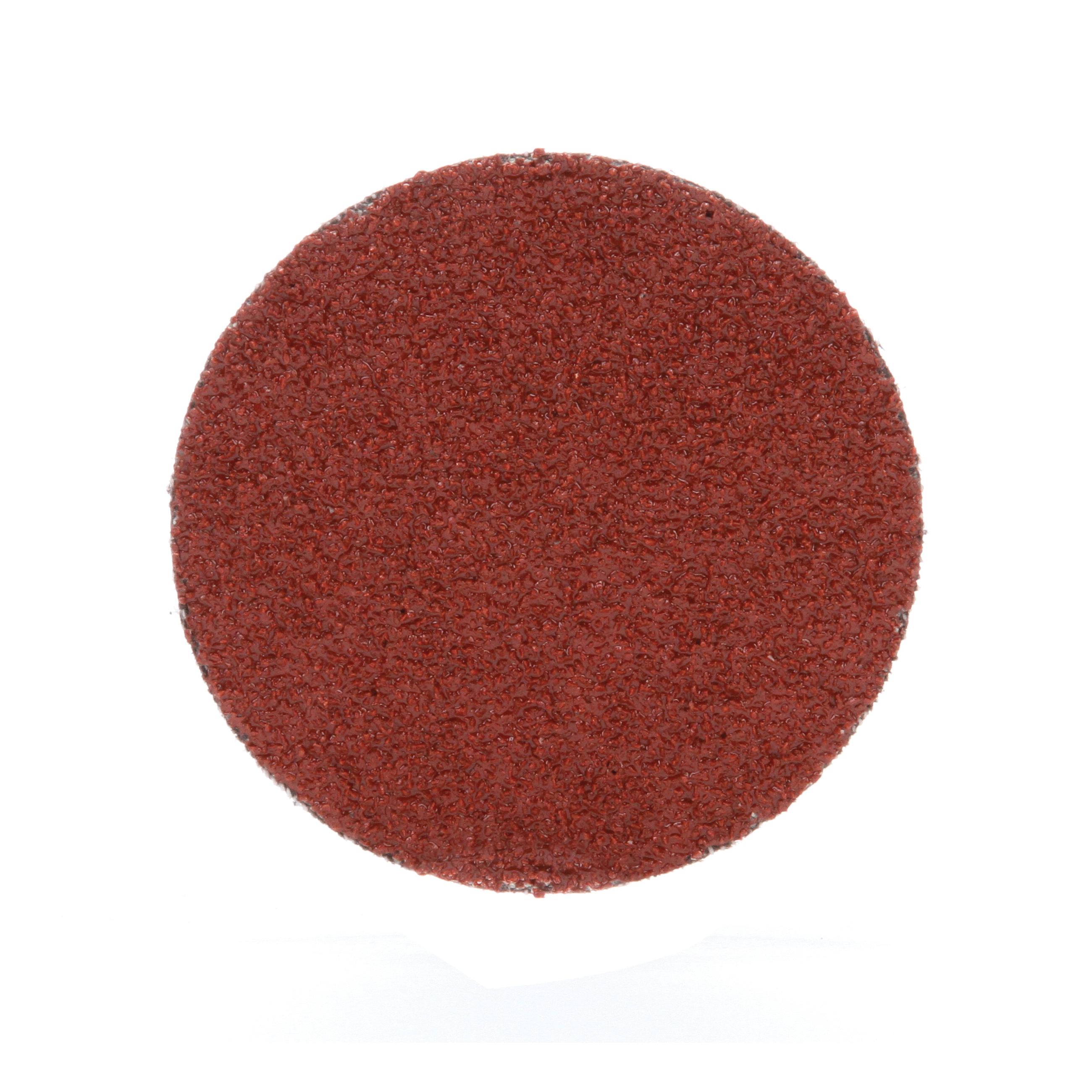 Roloc™ 051144-11104 963G Close Close Coated Abrasive Disc, 3 in Dia Disc, 50 Grit, Coarse Grade, Ceramic Abrasive, Type TR Attachment