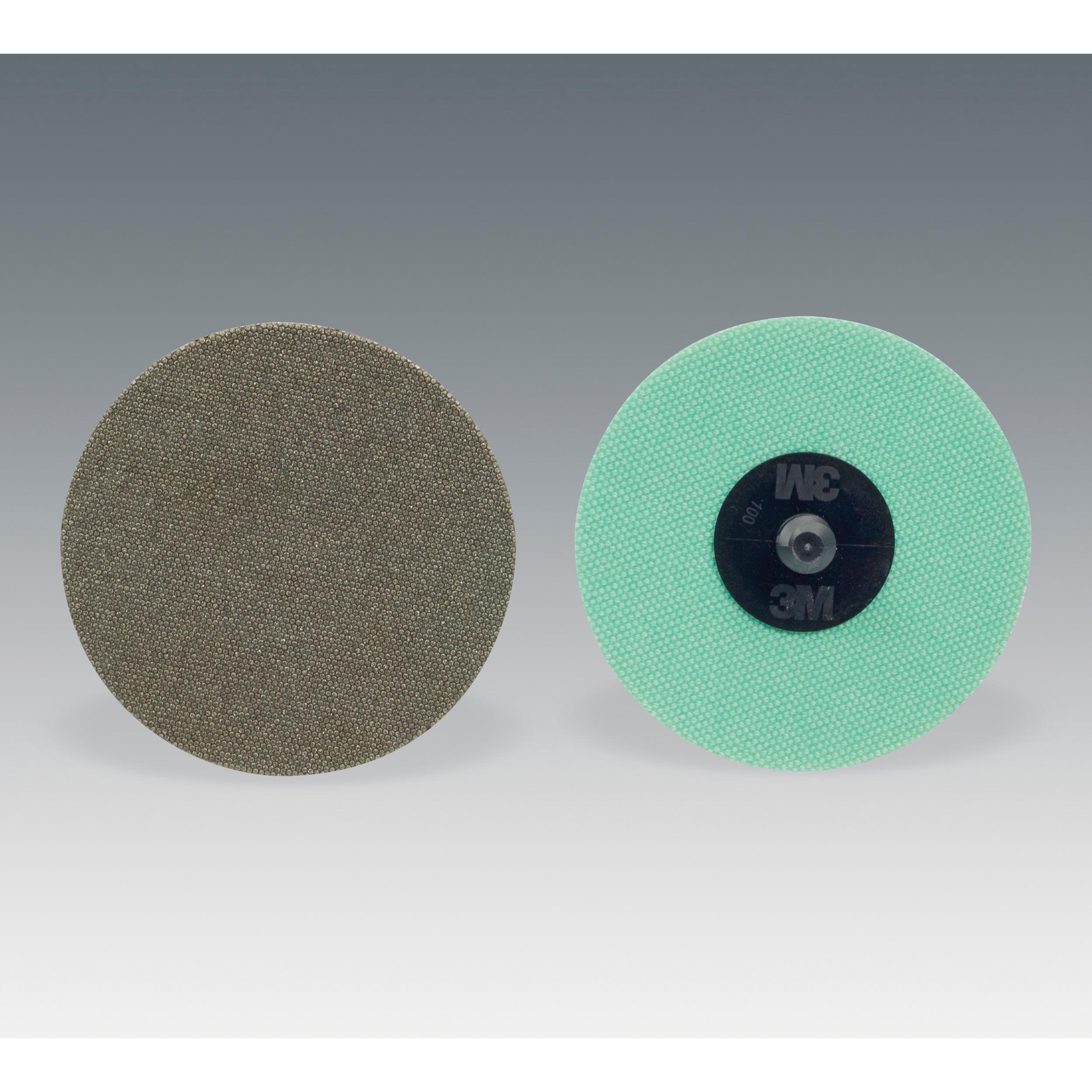 Roloc™ 051144-85254 6234J Type TR Flexible Abrasive Disc, 3 in Dia, No Hole Arbor/Shank, 250 micron Grit, Diamond Abrasive