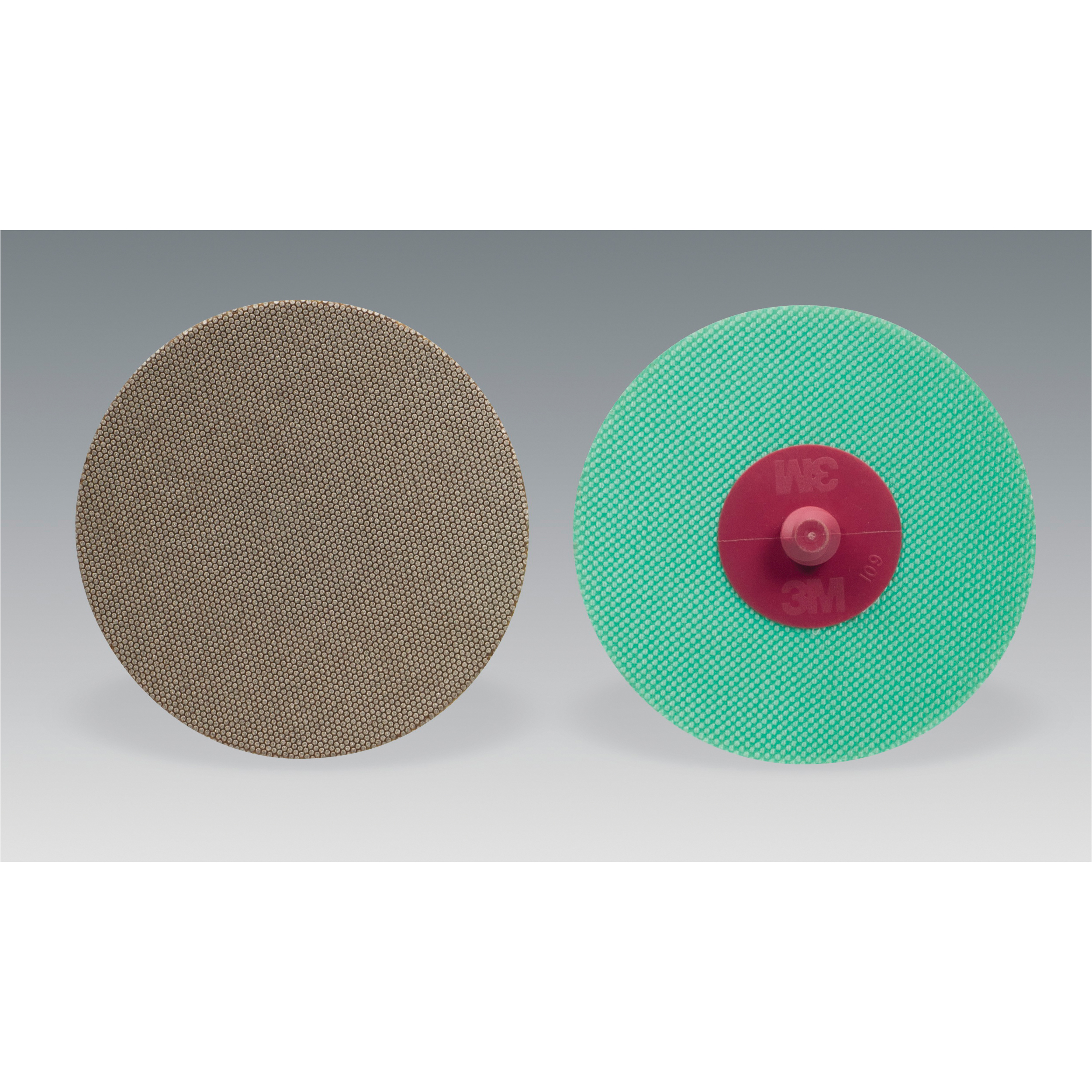 Roloc™ 051144-85257 6234J Type TR Flexible Abrasive Disc, 3 in Dia, No Hole Arbor/Shank, 40 micron Grit, Fine Grade, Diamond Abrasive