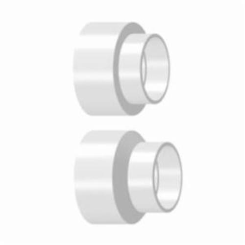 ROYAL® P658 P Series Adapter Coupling, 6 x 4 in Nominal, Solvent Sewer Hub x Solvent DWV Hub End Style, SDR 35, PVC