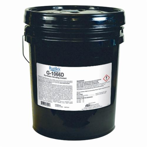 Rustlick™ 74052 Carbide PowerGrind Wheel Grinding Coolant, 5 gal Pail, Mild, Liquid, Green