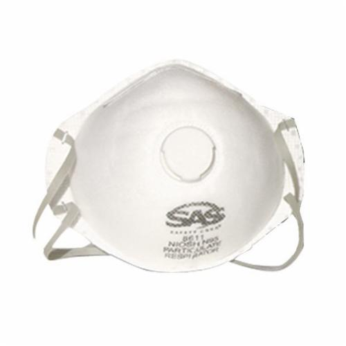 SAS® 8610 Latex Free Particulate Respirator, Universal, Resists: Non-Oil