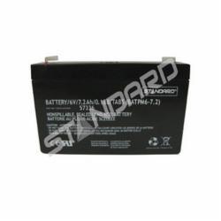 Standard® BATTERY/6V/7.2Ah/0.188/TABS (BATPM6-7.2) 57336