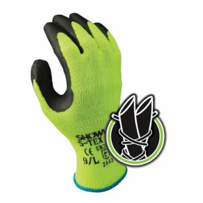 G-Tek® KEV™ 09-K1450/L Cut Resistant Gloves, L, Nitrile Coating, Kevlar®/Lycra®, Elastic/Knit Wrist Cuff, Resists: Abrasion, Cut, Puncture and Tear