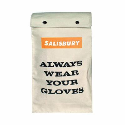 Salisbury by Honeywell ASBAG Storage Bag With Drawstring Closure and Fleece Interior, For Use With AS1000 Series Protective Faceshields, Cotton Canvas