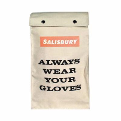 Salisbury by Honeywell GB112 Glove Bag, SZ 12, Canvas, White