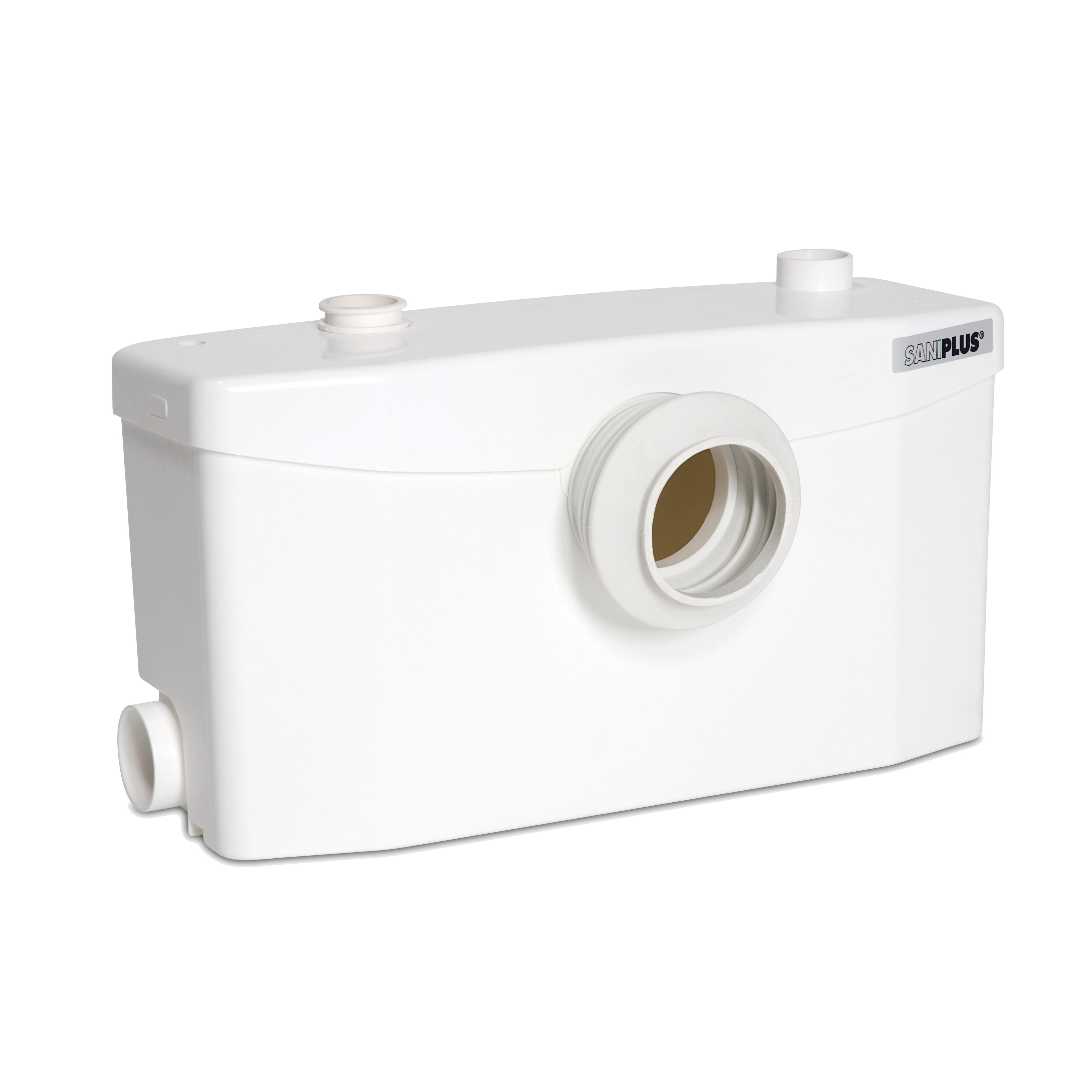 Saniflo® Saniplus® 002 Macerator Pump, 1.28 gpf Flow Rate, 2 in Inlet, 0.5 hp