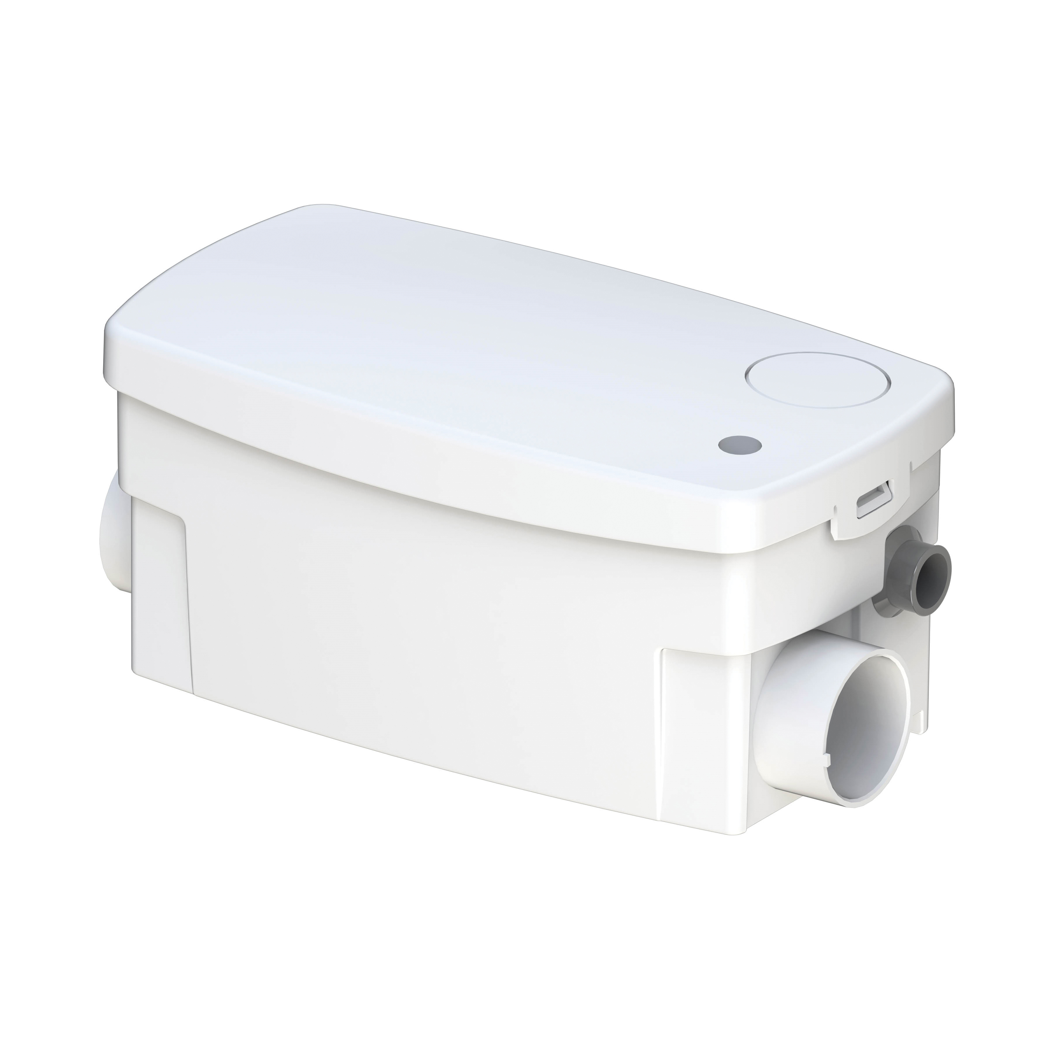 Saniflo® SANISHOWER® 010 Drain Pump, 14 gpm Flow Rate, 2 in Side, 1-1/2 in Top Inlet x 3/4 in Outlet, 120 VAC, 5.5 A, 1 ph