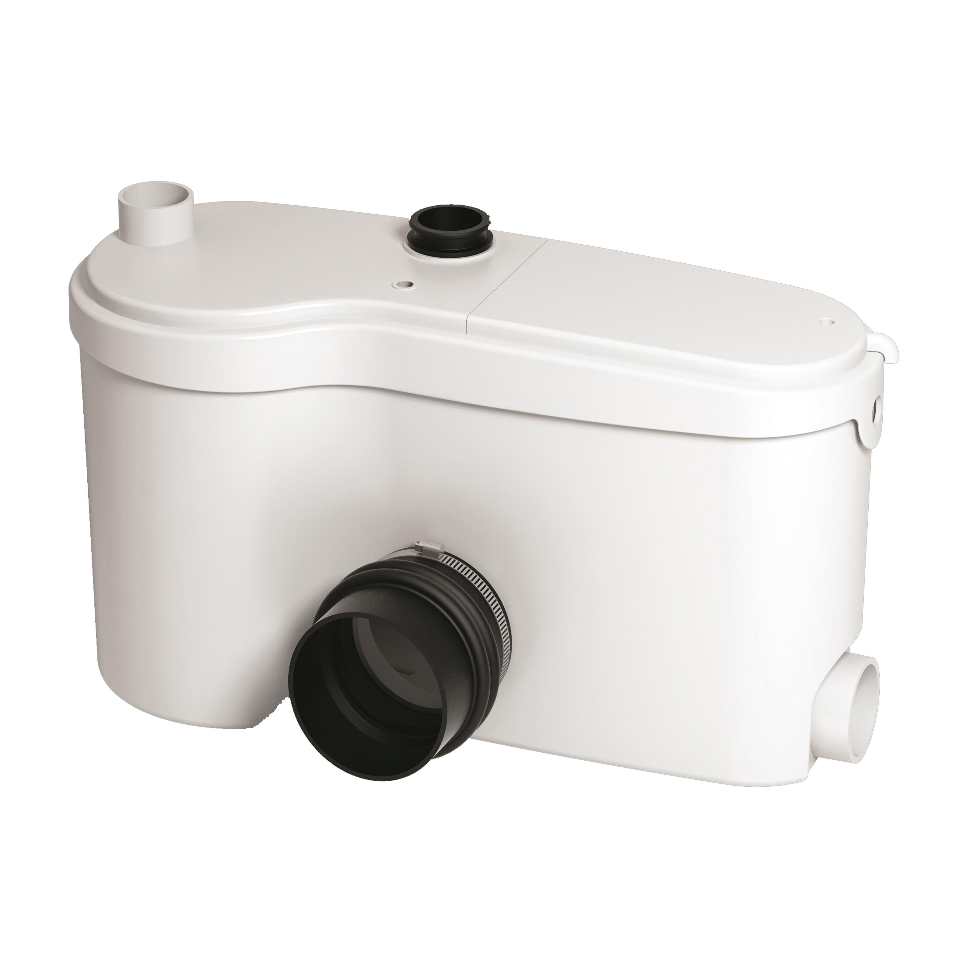 Saniflo® SANIGRIND® 014 1-Speed Pro Grinder Pump, 25 ft Max Head, 120 VAC