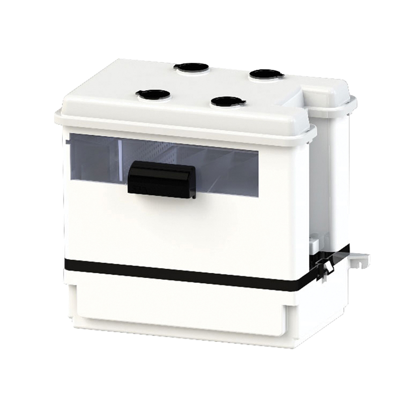 Saniflo® SANICONDENS BEST® 041 Condensate Pump, 30 gph Flow Rate, 1 in Inlet x 3/8 in Outlet, 15 ft Shutoff Head, 1/30 hp Power Rating