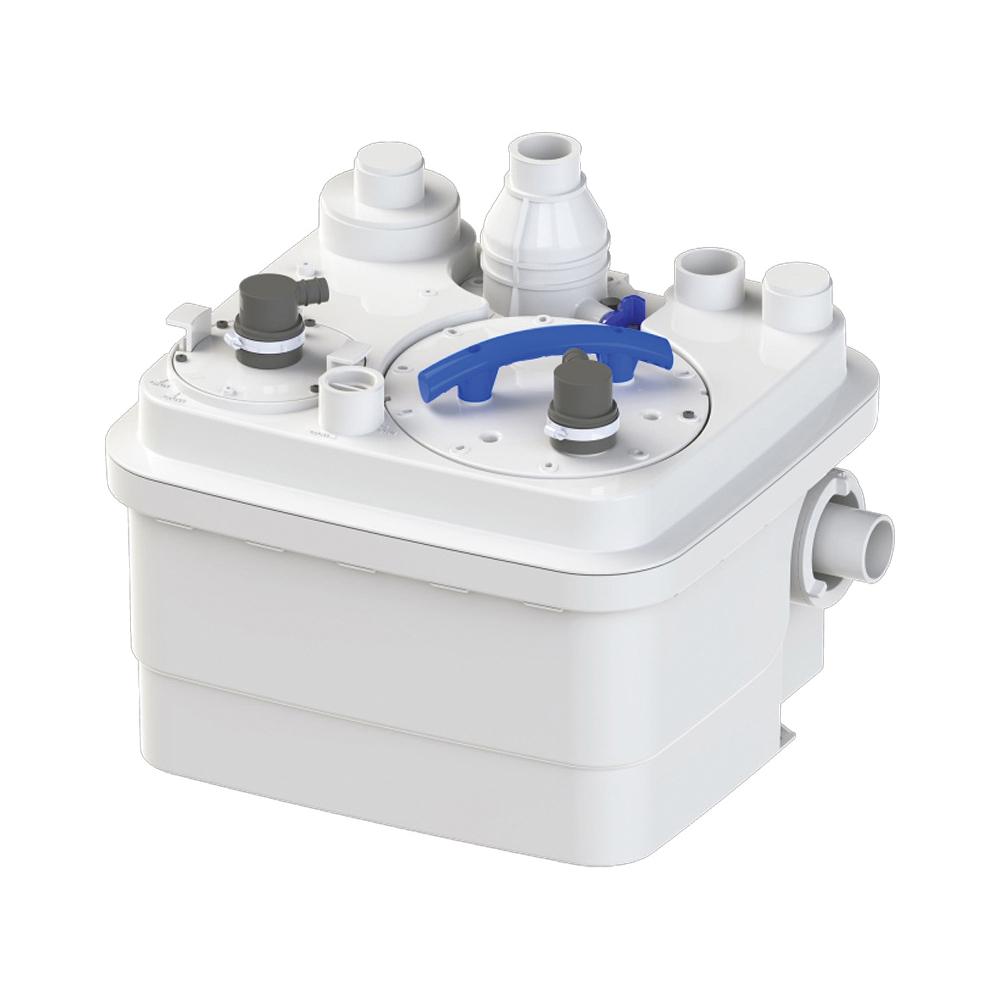 Saniflo® SANICUBIC 1® 089 Simplex Grinder Pump, 36 ft Max Head, 120 VAC, 1 ph