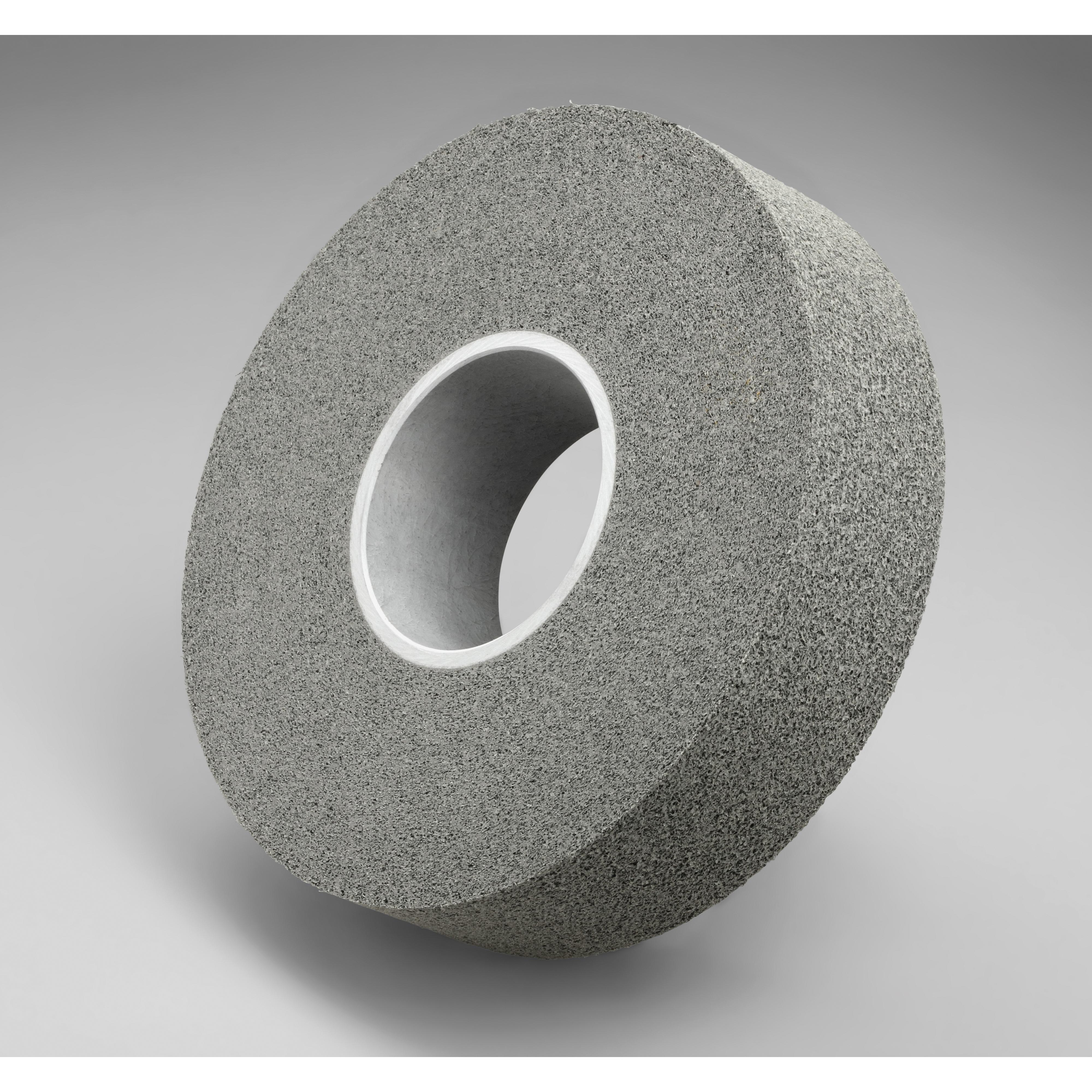 Scotch-Brite™ 048011-01675 LD-WL Convolute Light Deburring Wheel, 6 in Dia Wheel, 1 in Center Hole, 1 in W Face, Fine Grade, Silicon Carbide Abrasive