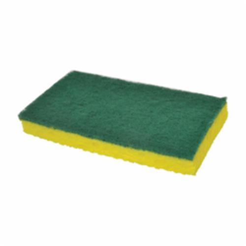 Scotch-Brite™ 048011-08293 General Purpose Scouring Pad, 9 in L x 6 in W, Synthetic, Green
