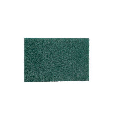 Scotch-Brite™ 048011-05509 Heavy Duty Scouring Pad, 9 in L x 6 in W x 1/4 in THK, Fiber Resin, Green