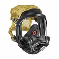 Scott Safety 201215-01 AV-3000 HT Full Face Respirator With 5-Strap Kevlar Head Harness, S, 5-Strap Suspension, Resists: Impact
