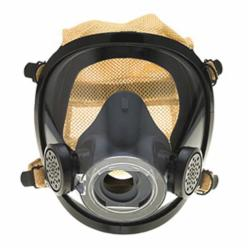 Scott Safety 804191-72 AV-2000 Full Face Respirator, L, 4-Point with Kevlar® Mesh Suspension, Open Connection, Resists: Impact