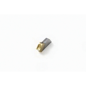 Seco 00077900 Grooving Insert, ANSI Code: 10ER.046FG CP500, 10ER Insert, 0.046 Insert, Left Hand/Right Hand Cutting, 1.17 mm W Cutting, Manufacturer's Grade: CP500, PVD-TiAlN+TiN Coated