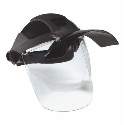 sellstrom® 32100 Faceshield Visor, Clear, Polycarbonate, 8 in H x 8 in W x 0.06 in THK Visor, For Use With DP4™ Multi-Purpose Faceshields, Specifications Met: ANSI Z87+