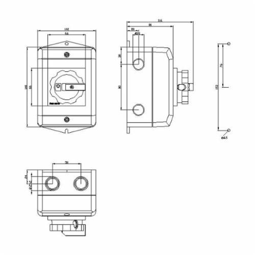 Siemens 3LD2264-0TB53-0US2