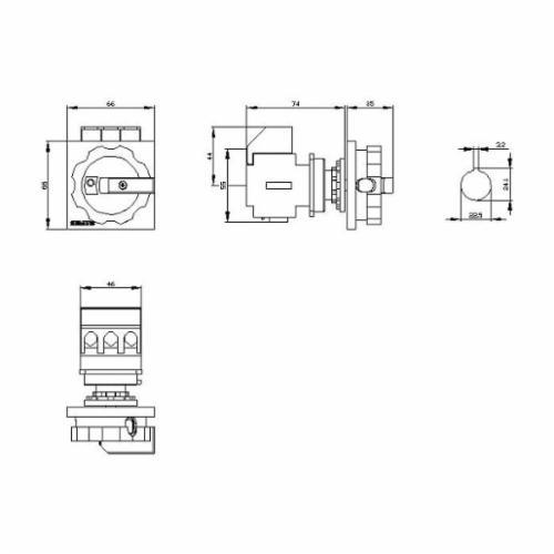 Sentron™ 3LD2555-0TK53