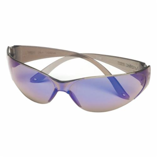 Sightgard® 10008175 RX™ Overglasses Safety Glasses, Anti-Fog Clear Lens, Frameless Blue Polycarbonate Frame, Polycarbonate Lens, Specifications Met: ANSI Z87.1-2010