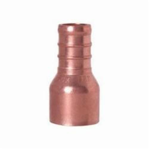 Tomahawk 644X2 1-Piece Straight Adapter, 1/2 in, F1807 PowerPEX® Crimp™ x Female C, Copper, Domestic