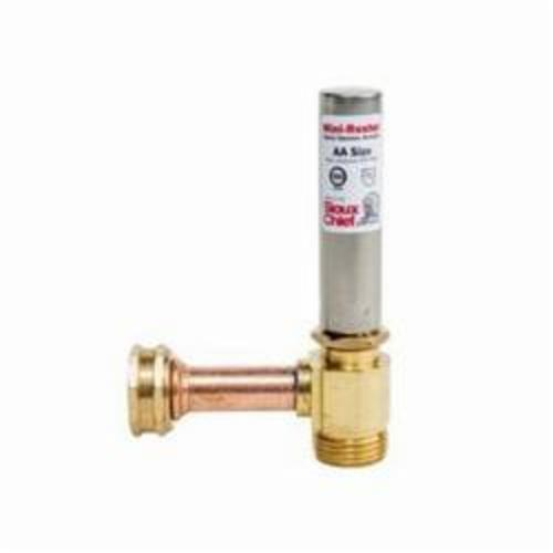 Tomahawk MiniRester™ 660-H Water Hammer Arrester With Tee, 3/4 in Nominal, Female Hose Threaded Swivel x Male Hose Threaded End Style, 350 psig Pressure, Domestic