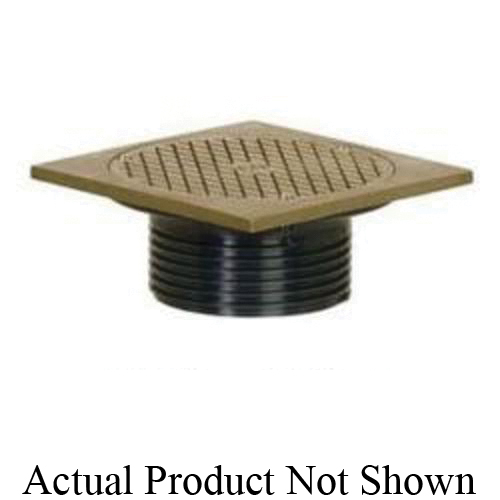 Tomahawk FinishLine™ 834-4PF Adjustable Drain Cleanout, 4 in Cleanout, PVC