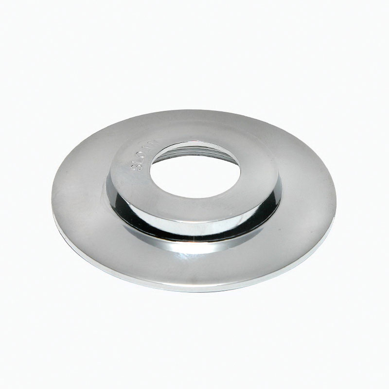 Sloan® 0302248PK B-23 Wall Flange, For Use With: Concealed Pushbutton, 2-3/4 in, Polished Chrome