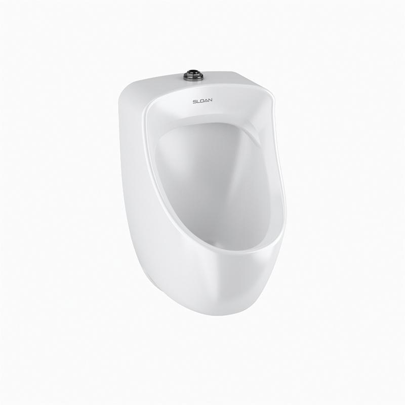 Sloan® 1107006 SU-7006 Washdown Urinal Fixture, 1 gpf, Top Spud, Wall Mount