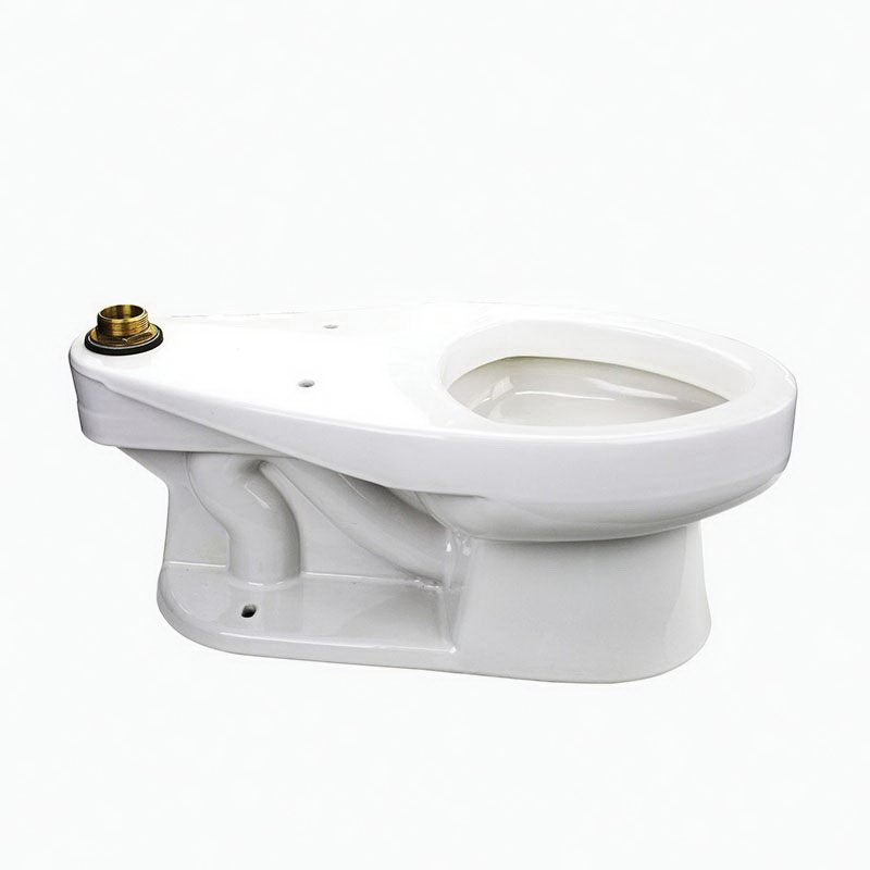 Sloan® 2102309 ST-2309 Junior Toilet, Elongated Bowl, 17 in H Rim, 10 or 12 in Rough-In, 1.1/1.6 gpf Flush Rate