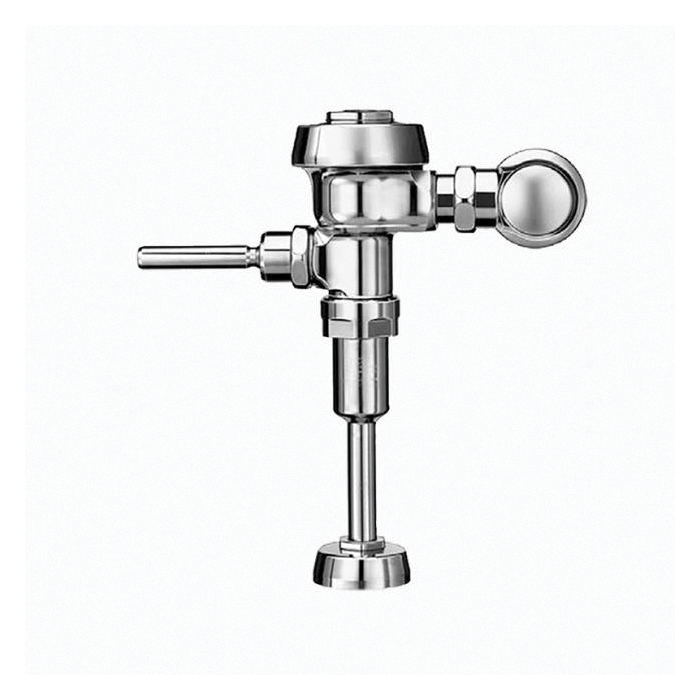 Sloan® Royal® 3012636 186 Single-Flush Flushometer, 1 gpf Flush Rate, 3/4 in IPS Inlet, 43558 in Spud, Polished Chrome, Domestic