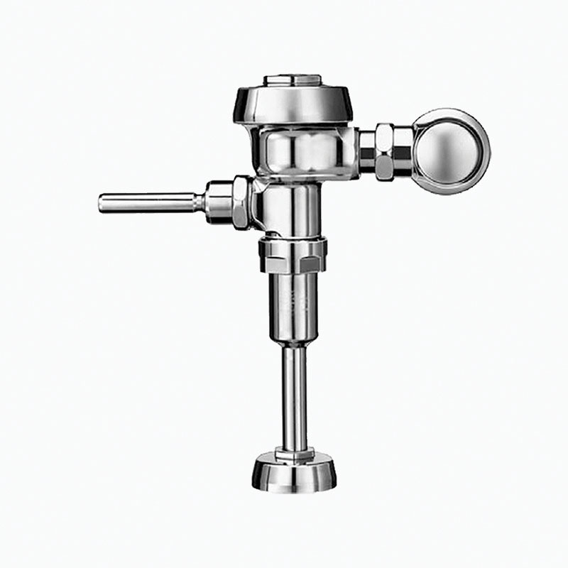Sloan® Royal® 3912633 186 Single-Flush Manual Exposed Flushometer, 0.125 gpf Flush Rate, 3/4 in IPS Inlet, 43558 in Spud, 15 to 80 psi Pressure, Polished Chrome, Domestic