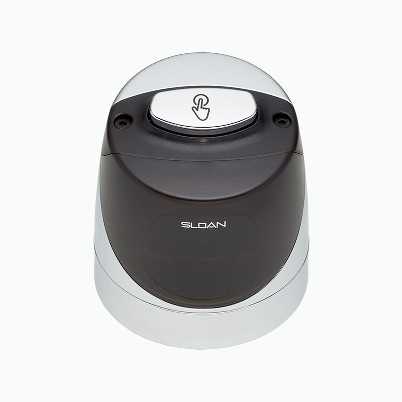 Sloan® 0325161 EBV-139-A Single-Flush Cover/Ring/Sensor Assembly, For Use With: Sloan ECOS® Urinal Flushometer, 1 gpf, Polished Chrome