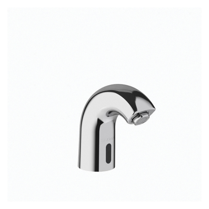 Sloan® 3362102 SF-2150 Sink Faucet, Commercial, 0.5 gpm Flow Rate, 1 Faucet Holes, Polished Chrome, Function: Touchless