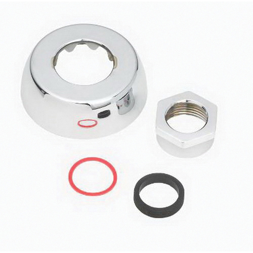 Sloan® 0306146 F-5-AT Spud Coupling Assembly, For Use With: Royal® and Regal® Manual Flushometer, Brass, Silver, Domestic