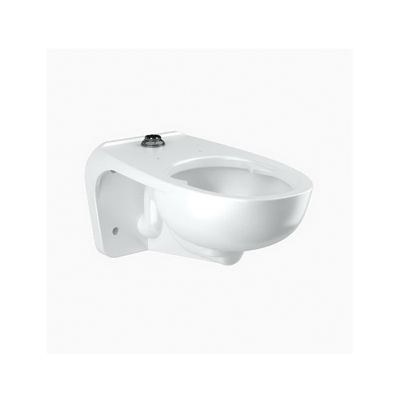 Sloan® 2112459 Top Spud Water Closet With Bed Pan Lugs, Elongated Bowl, 1.1/1.6 gpf Flush Rate, White
